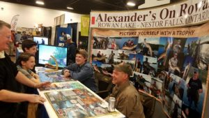 Alexander's on Rowan 2017 Muskie Expo in Chicago