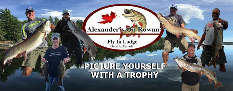 Homepage Slider Alexanders on Rowan Lake